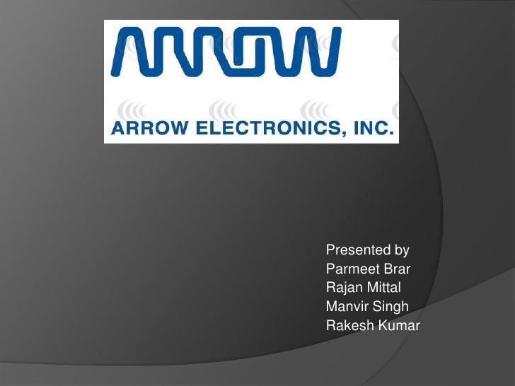 case analysis arrow electronics inc