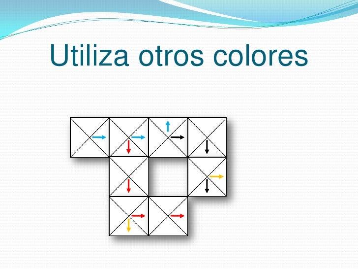 Utiliza otros colores<br />