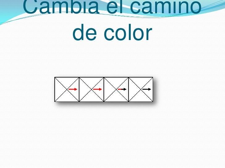 Cambia el camino de color<br />