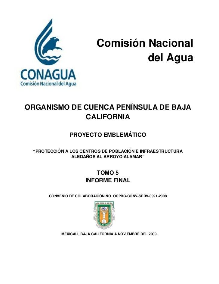 Comisión Nacional                                     del AguaORGANISMO DE CUENCA PENÍNSULA DE BAJA             CALIFORNIA...