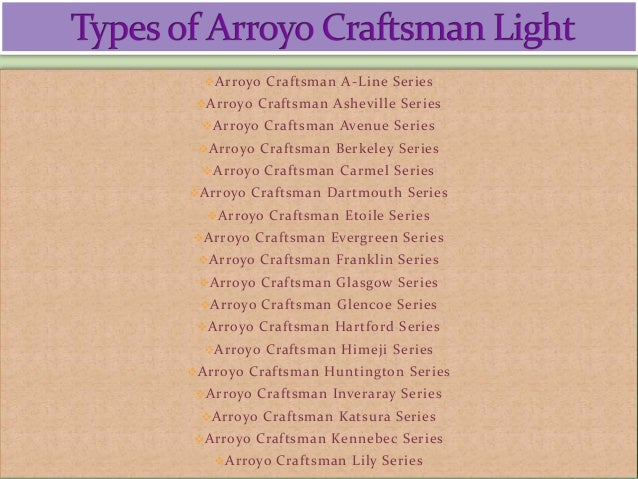arroyo craftsman lighting fixtures 2