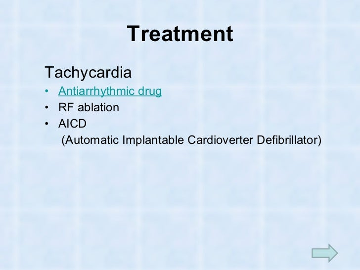 Arrythmia - Ablation chambre implantable ...