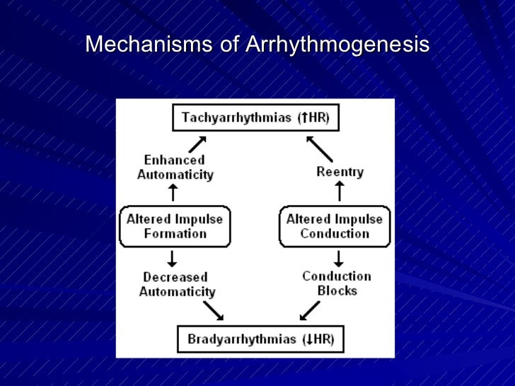 Mechanisms of Arrhythmogenesis