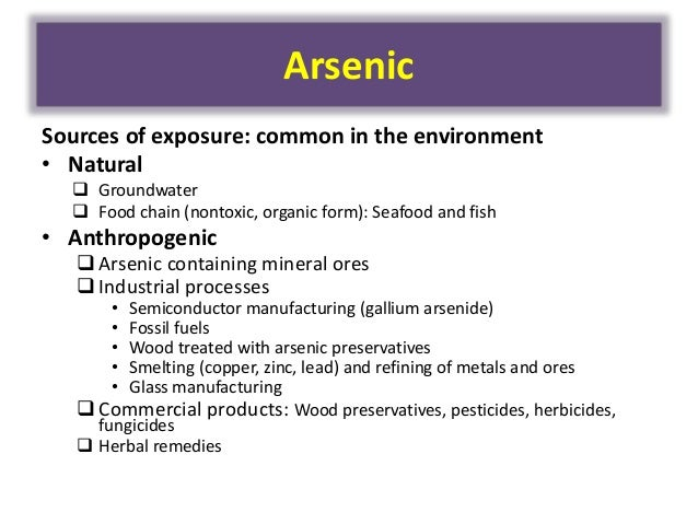 Manganese Poisoning From Food