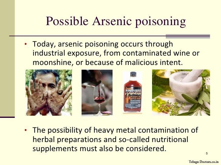 Arsenic Poisoning