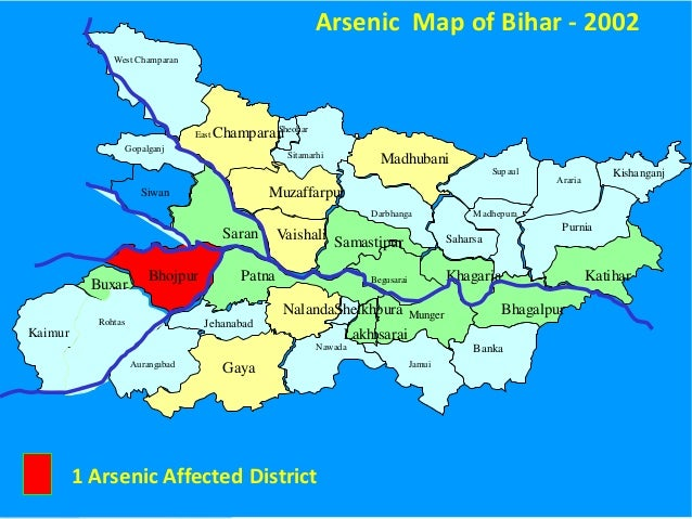 Worksheet. Arsenic Poisoning in Bihar  Problem and Mitigation