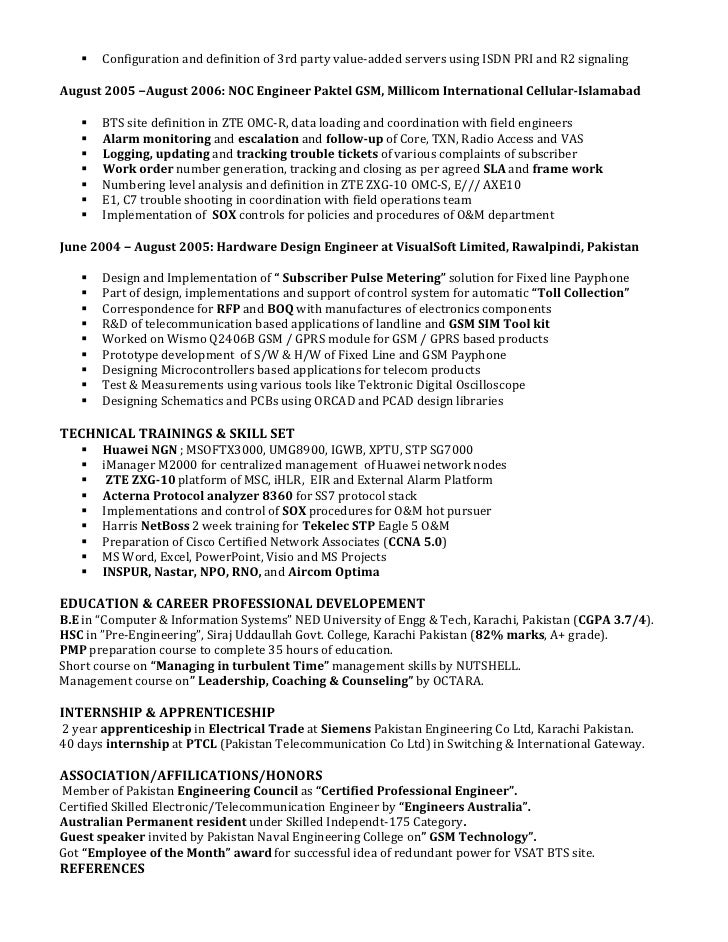 Telecom Sales Engineer Sample Resume Sales Engineer Resume Sample