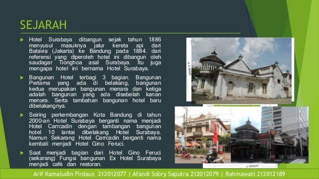 Arsitektur Kontekstual Gino Feruci Dan Ex Hotel Surabaya