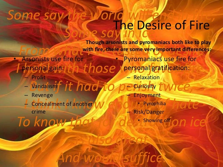 pyromania disorder essay From stack-firing to pyromania: medico-legal concepts of insane arson in british, us and european contexts,  pyromania as an impulse disorder concurrently.