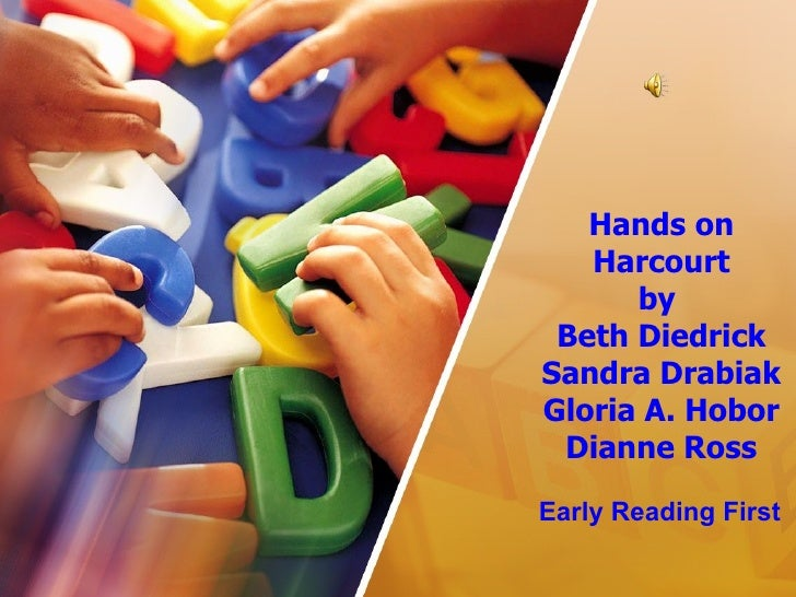 Hands on Harcourt by  Beth Diedrick Sandra Drabiak Gloria A. Hobor Dianne Ross Early Reading First