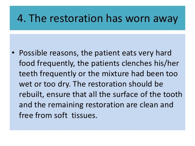 atraumatic restorative treatment for dental caries 2018-06-14  an untreated dentine cavity is the most prevalent medical condition in the world whilst dental caries, in essence, is a preventable disease this contradiction shows that something is very wrong in the management of dental.
