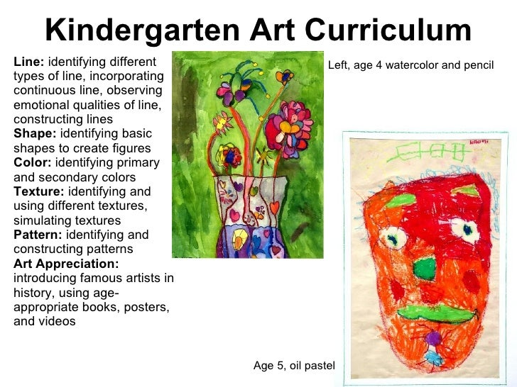 Line Art Lesson For Kindergarten : Kcc art chapter curriculum and lesson planning