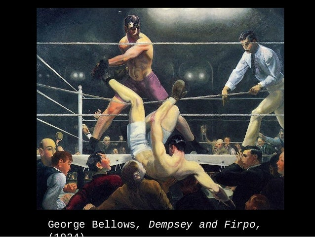 George Bellows, Dempsey and Firpo,