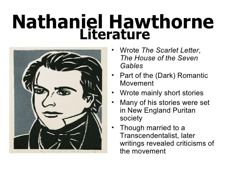 transcendentalism in the the scarlet letter Nathaniel hawthorne's the scarlet letter and transcendentalism 1058 words 5  pages show more in the mid-nineteenth century, particularly in the american.