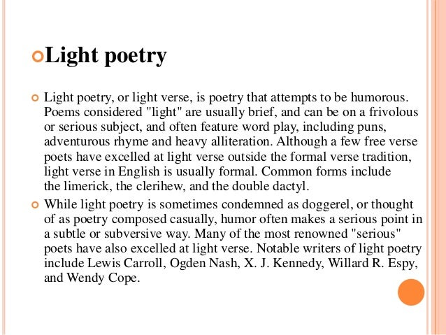 Poems about light iron blog for Lamp light poem