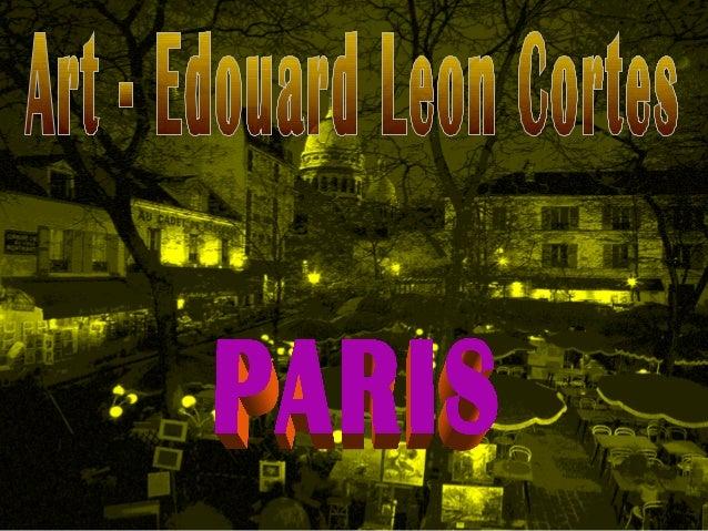 Art edouard-leon-cortes