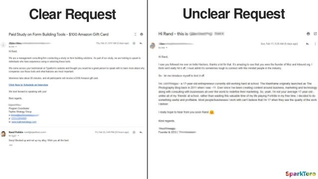 Clear Request Unclear Request