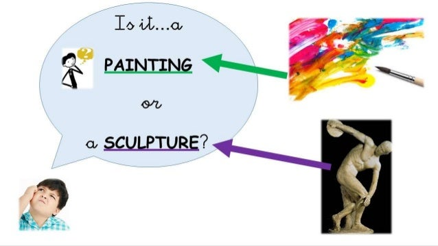 Art: paintings and sculptures  Slide 2