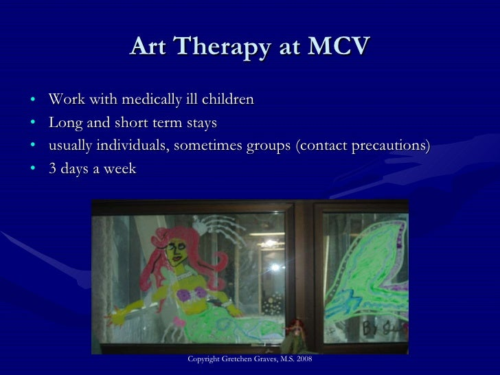 Art Therapy At The Richmond Hospital Education Program