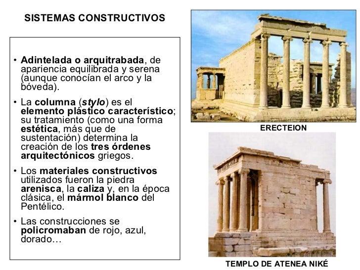 Art 01 b el arte griego la arquitectura for Obra arquitectonica definicion