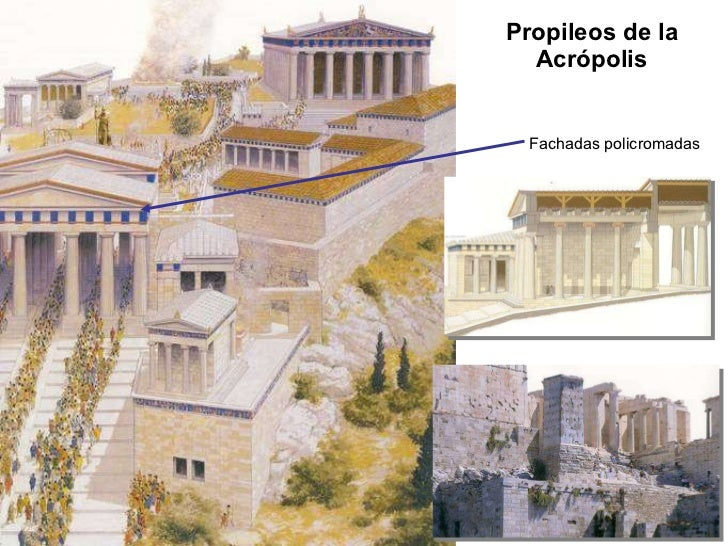 Art 01 b el arte griego la arquitectura Casas griegas antiguas