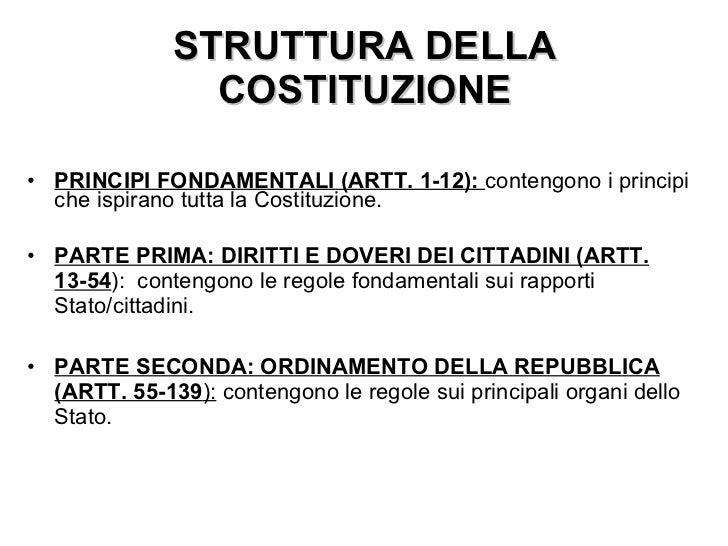 Art1 3 cost for Struttura del parlamento