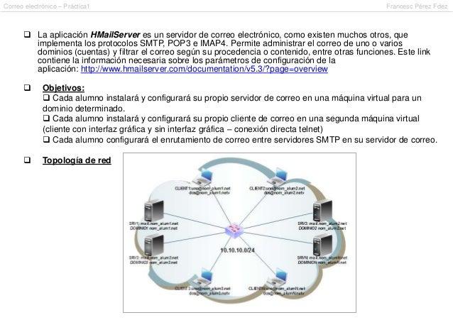 Correo electrónico – Práctica1                                                                       Francesc Pérez Fdez  ...