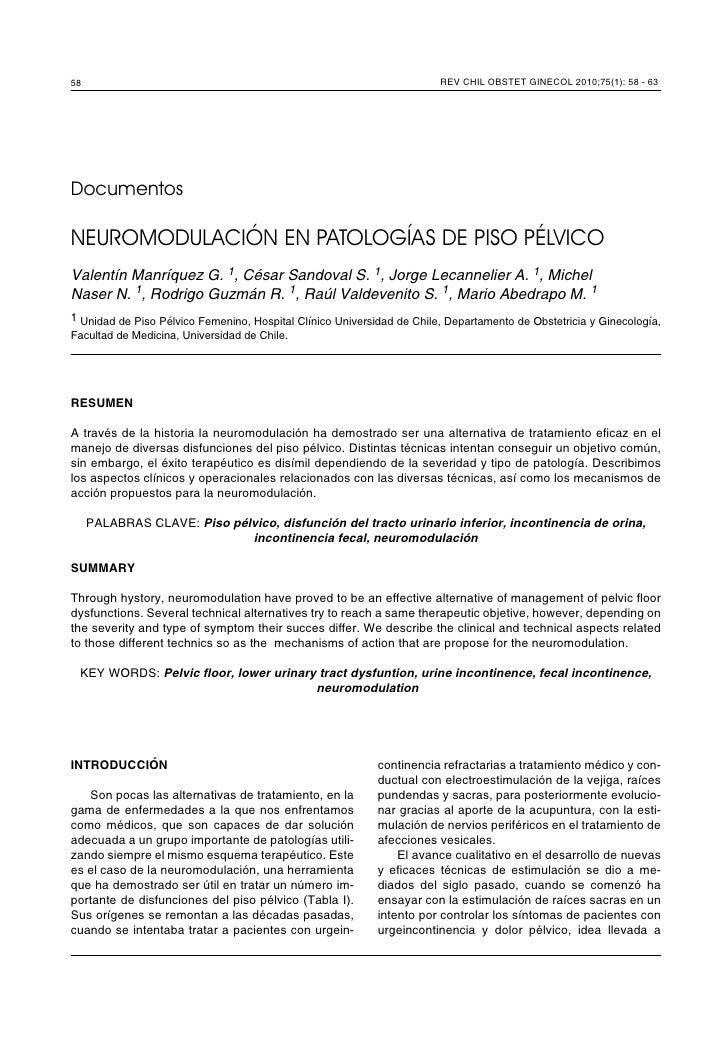 58                                                                      REV CHIL OBSTET GINECOL 2010;75(1): 58 - 63     Do...