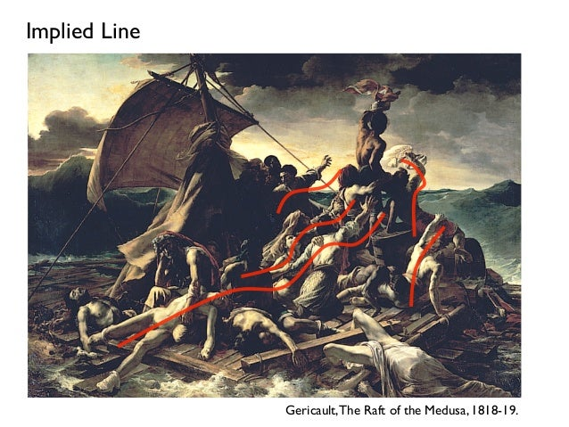 Implied Lines In Art : Art lva online
