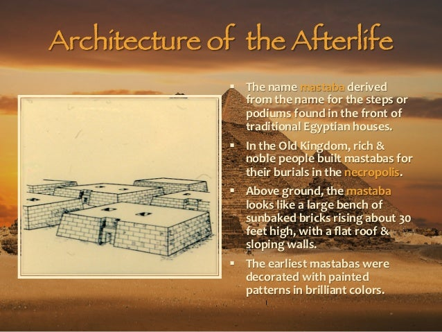 Art1204 Architecture Of The Afterlife Embalming Amp Tombs