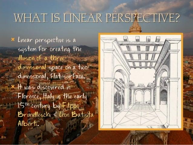 brunelleschis perspective system essay