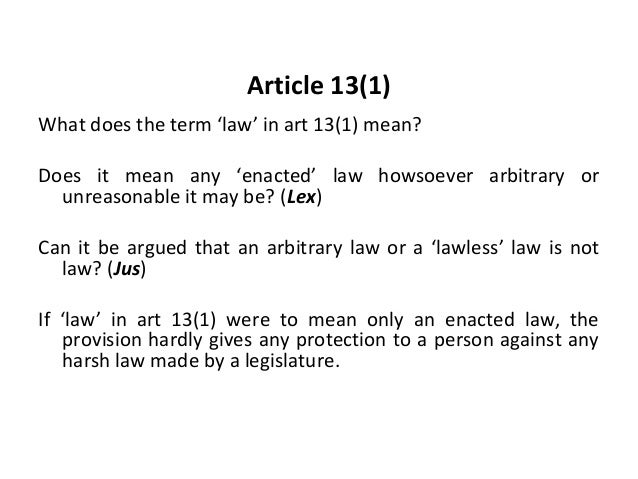 article 13 - photo #1