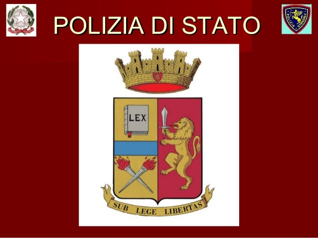 POLIZIA DI STATOPOLIZIA DI STATO