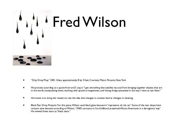 fred wilson art 21