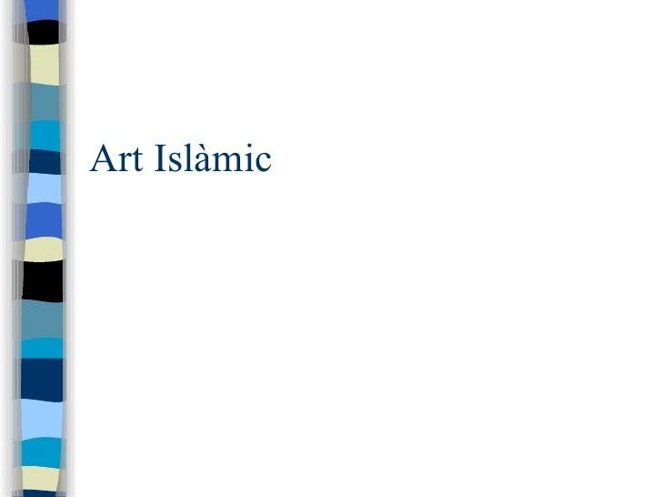 Art Islàmic