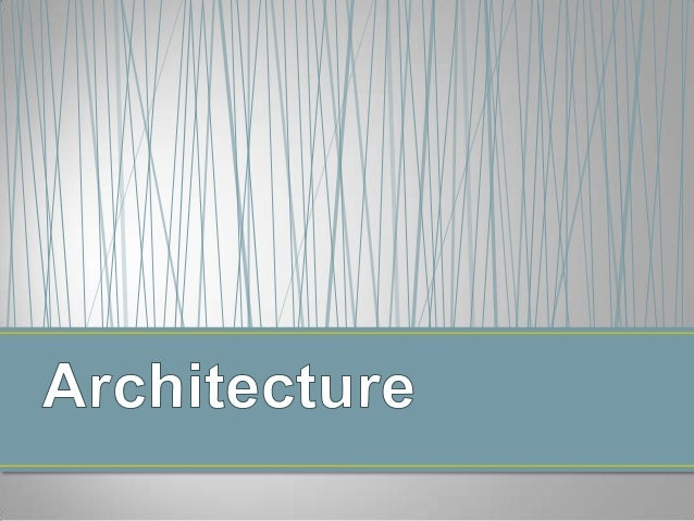 Art and architecture powerpoint