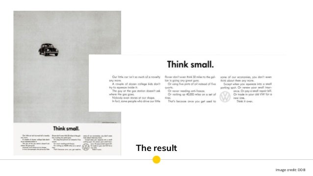 The result Image credit: DDB