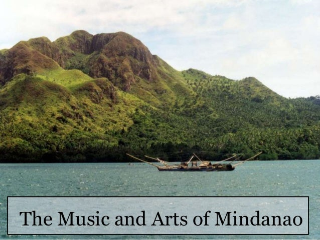 The Music and Arts of Mindanao