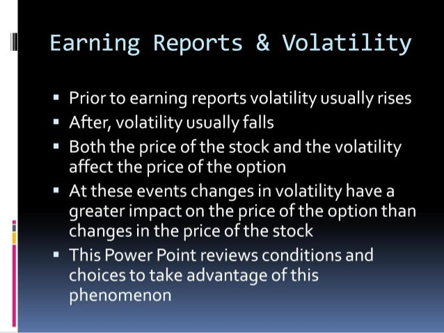 Art and Mysticism of Earnings Slide 2