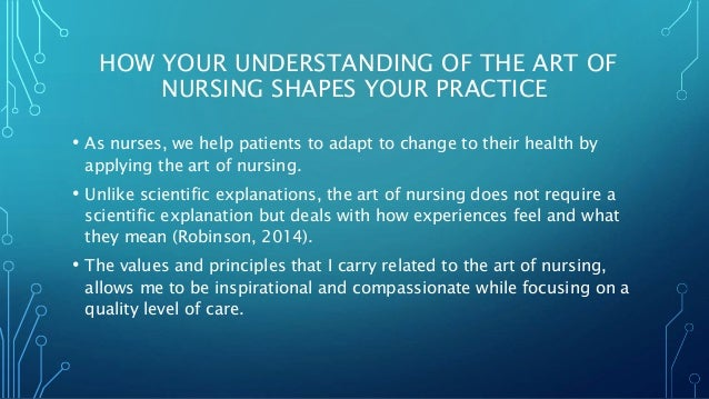 the art and science of nursing The art and science of nursing where the historical art meets the contemporary science of nursing about this site this site provides a jumping point to other organizations who specialize in the history of nursing it is my hope that the blog pieces will inspire you to think about how nurses of the past pioneered our current nursing practices.