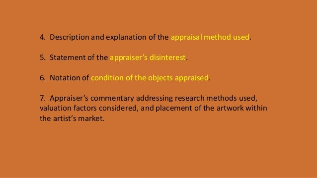 the art of valuation teaching art appraisal