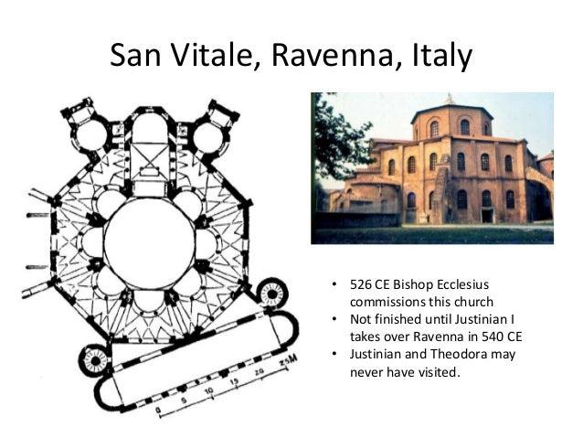 Church Of San Vitale Plan