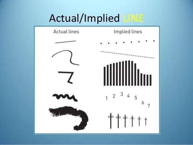 Implied Lines In Art : Art appreciation principles elements of