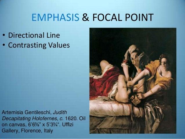 Art Appreciation Principles Elements Of Art Focal Point