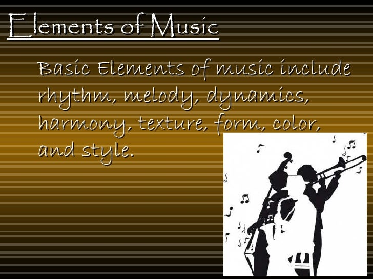 Elements Of Fine Arts : Elements of the fine art