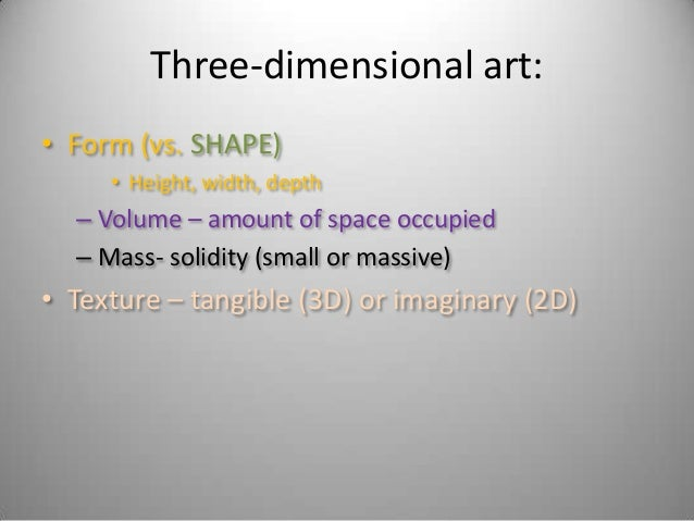 Shape And Form Definition In Art : Art appreciation day line shape contrast form mass