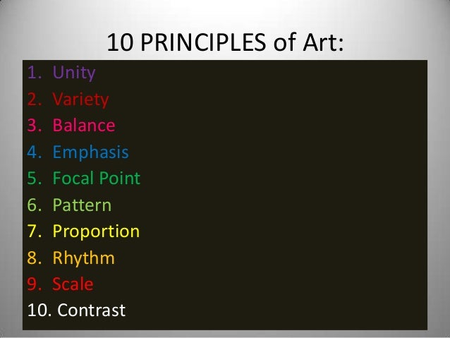 Principles Of Art Pattern : Principles of design student work otis college art and