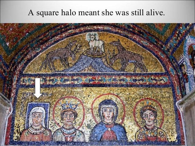 A square halo meant she was still alive.