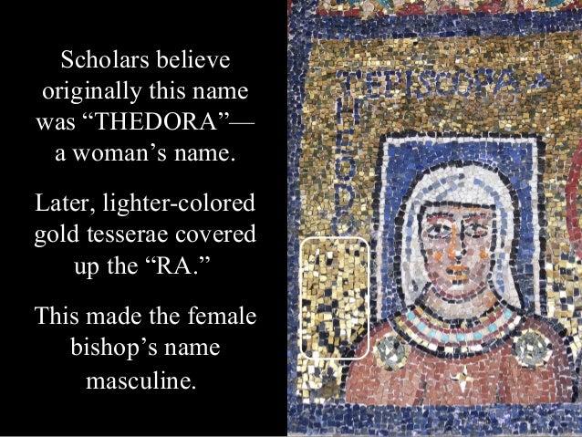 """""""EPISCOPA THEODORA"""" Bishop Theodora"""