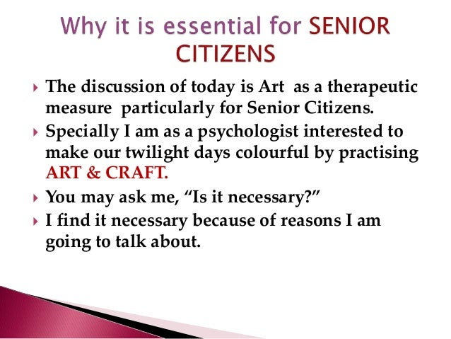 Art as therapeutic measure Slide 2